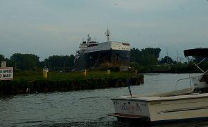 Huron ocean ship and boat